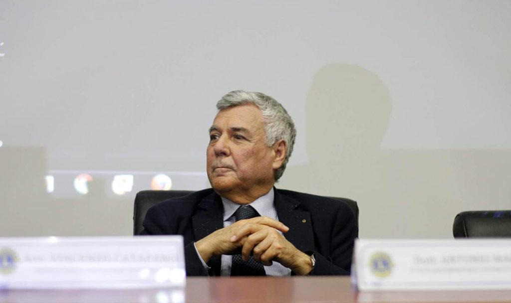 Antonio Marte quale Governatore per l'Anno Sociale