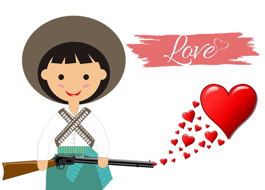 Fucile spara amore