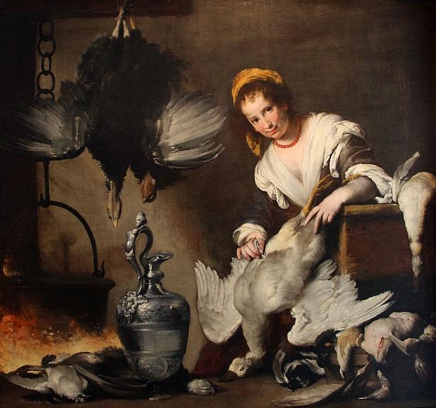 """Bernardo Strozzi """"La cuoca"""""""