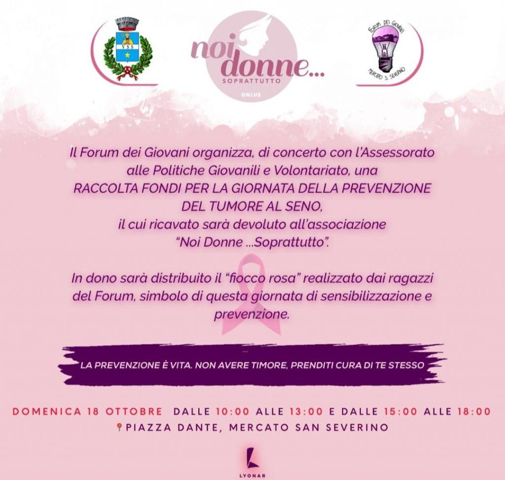 foto Forum 18 ottobre 2020 tumore seno Noia 1