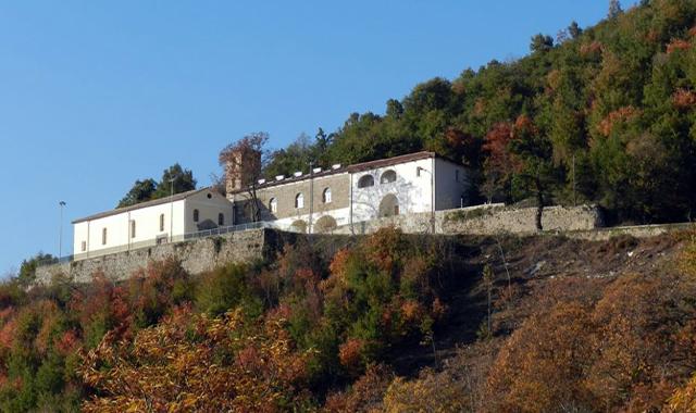 santuario di S.Michele di mezzo a Fisciano (Salerno)